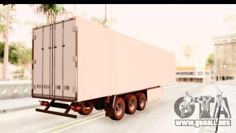 Trailer ETS2 v2 New Skin 1 para GTA San Andreas left