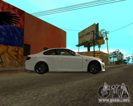 BMW M3 Armenian para GTA San Andreas left