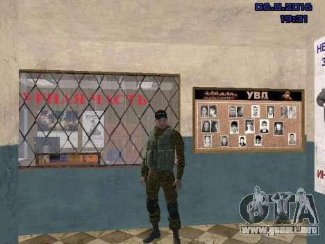 Policía para GTA San Andreas segunda pantalla