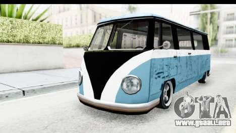 New Camper para la visión correcta GTA San Andreas