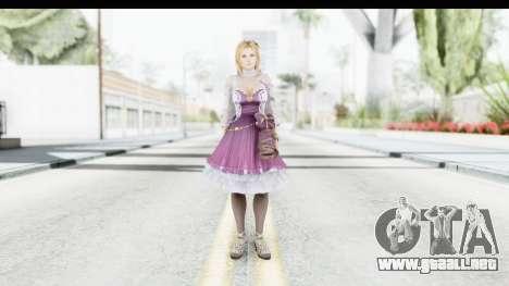 Tina Mashup from Dead Or Alive 5 para GTA San Andreas segunda pantalla