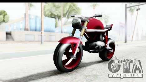 Custom Stunt FCR9000 para la visión correcta GTA San Andreas