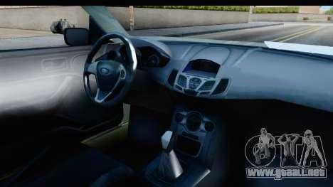 Ford Escort RS Cosworth 2016 para visión interna GTA San Andreas