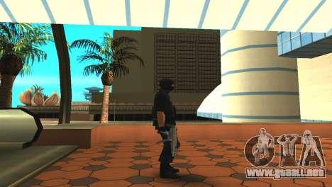 Modificado de la piel original SWAT para GTA San Andreas sucesivamente de pantalla