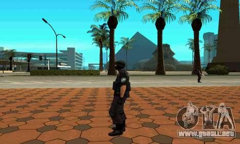 NextGen cambiado el skin original SWAT para GTA San Andreas sexta pantalla