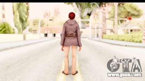 Silent Hill Downpour - Annie para GTA San Andreas tercera pantalla