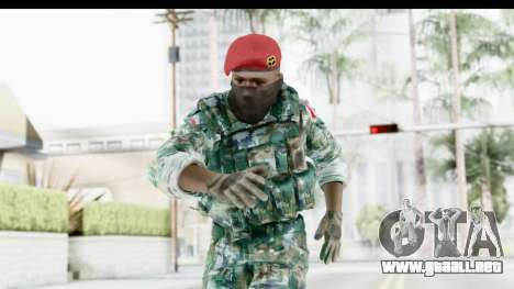 Global Warfare Indonesia para GTA San Andreas