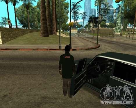 VAZ 2101 Armenian para la vista superior GTA San Andreas
