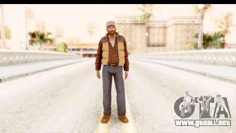 Silent Hill Homecoming - Travis para GTA San Andreas segunda pantalla