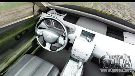 Mitsubishi L200 Indonesian Police para visión interna GTA San Andreas