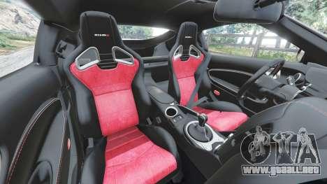 Nissan 370Z Nismo Z34 2016 [replace] para GTA 5