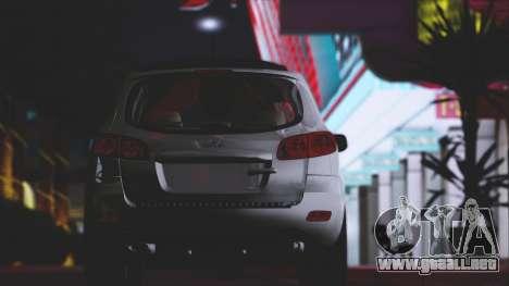 Hyundai Santa Fe Stock para vista lateral GTA San Andreas