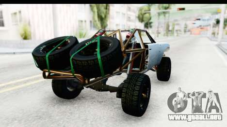 GTA 5 Trophy Truck SA Lights PJ para GTA San Andreas left
