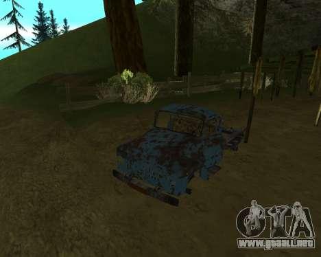 Viejo oxidado de GAS 53 para GTA San Andreas
