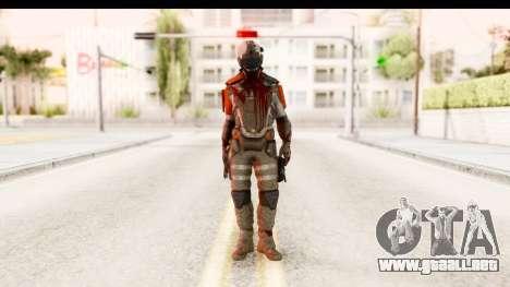 Homefront The Revolution - KPA v2 Dead para GTA San Andreas segunda pantalla
