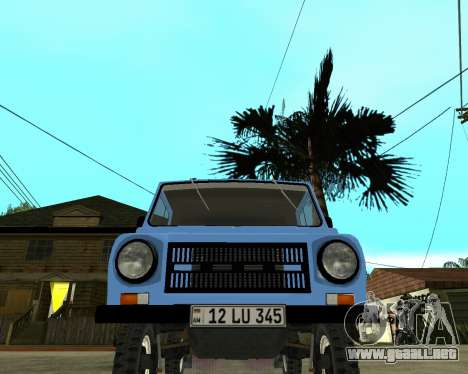 Luaz 969 Armenian para GTA San Andreas left