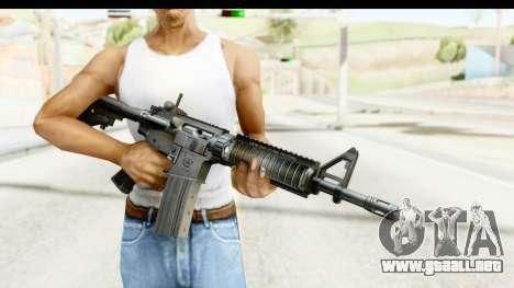 AR-15 para GTA San Andreas tercera pantalla