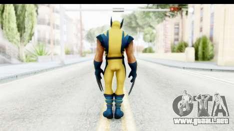 Marvel Heroes - Wolverine Modern para GTA San Andreas tercera pantalla