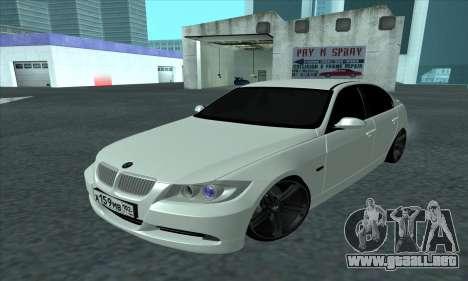 BMW 325i E90 para GTA San Andreas