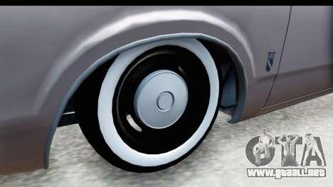 Ford Taunus Coupe para GTA San Andreas vista hacia atrás