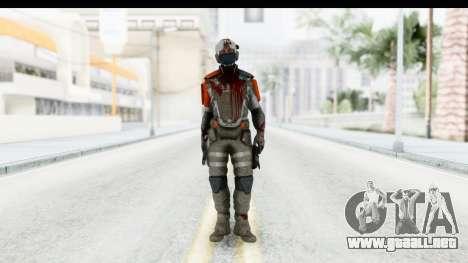Homefront The Revolution - KPA v4 Dead para GTA San Andreas segunda pantalla