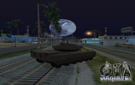 El efecto de disparo de tanque para GTA San Andreas tercera pantalla