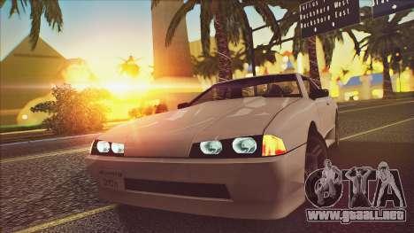Elegy Drophead para la visión correcta GTA San Andreas