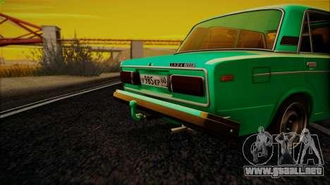 VAZ 2106 Shaherizada GVR para GTA San Andreas left