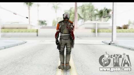 Homefront The Revolution - KPA v4 Dead para GTA San Andreas tercera pantalla