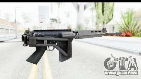FN-FAL Folded para GTA San Andreas tercera pantalla