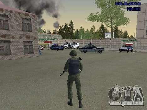 El conductor de la MIA para GTA San Andreas tercera pantalla