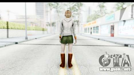 Silent Hill Downpour - Heather para GTA San Andreas tercera pantalla