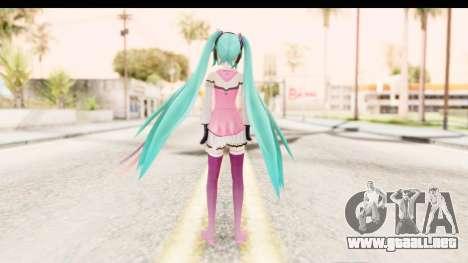 Project Diva F - Hatsune Miku Vocal Star Remade para GTA San Andreas tercera pantalla