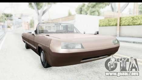 Savanna Daytona para la visión correcta GTA San Andreas