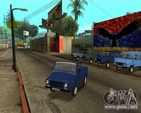 Luaz 969 Armenian para el motor de GTA San Andreas
