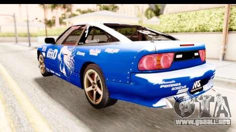 Nissan Sileighty 2015 D1GP para GTA San Andreas left