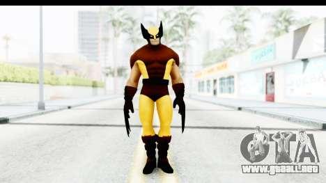 Marvel Heroes - Wolverine Brown para GTA San Andreas segunda pantalla