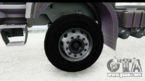 Tatra Phoenix 6x2 Agro Truck v1.0 para GTA San Andreas vista hacia atrás