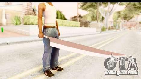 Bleach - Ichigo Weapon para GTA San Andreas