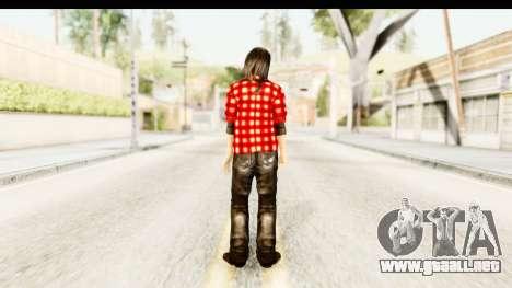 Twilight - Bella para GTA San Andreas tercera pantalla