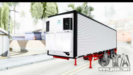 Trailer with Axle para la visión correcta GTA San Andreas