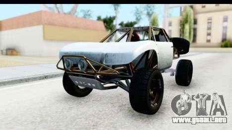 GTA 5 Trophy Truck SA Lights PJ para la visión correcta GTA San Andreas