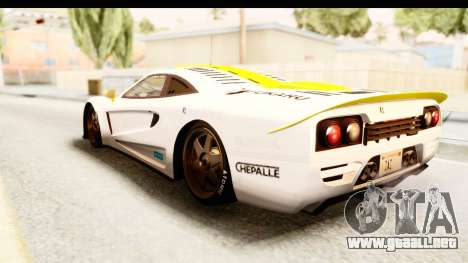 GTA 5 Progen Tyrus SA Style para las ruedas de GTA San Andreas