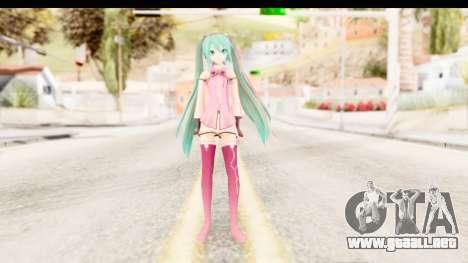 Project Diva F - Hatsune Miku Vocal Star Remade para GTA San Andreas segunda pantalla