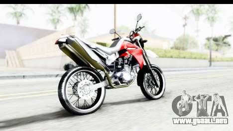 Yamaha XT 660R para GTA San Andreas left