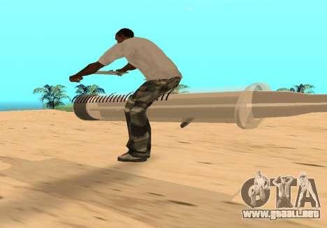 Jeringa para la visión correcta GTA San Andreas