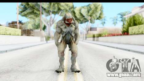 DOOM 3 - Hellknight para GTA San Andreas segunda pantalla