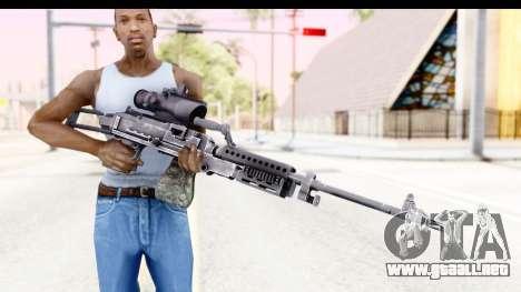 M240 FSK No Bipod para GTA San Andreas tercera pantalla