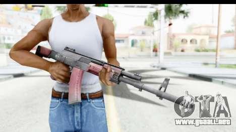 Kalashnikov AK-12 para GTA San Andreas tercera pantalla