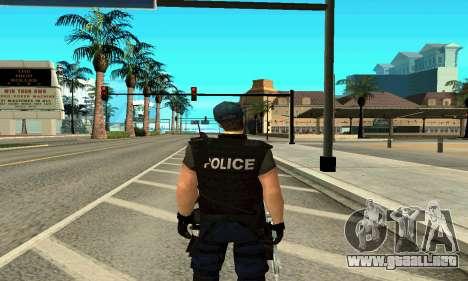 Entrenador de SWAT para GTA San Andreas segunda pantalla